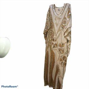 Bloomingdale's Vintage INCREDIBLE Kaftan dress 1sz